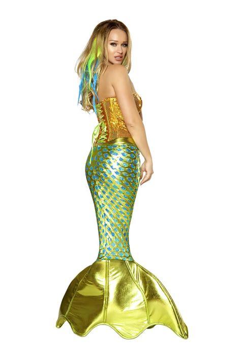 mermaid costume siren of the sea deluxe mermaid costume 231 99 the costume land