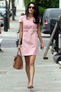 style icon amal clooney sparkles and shoes
