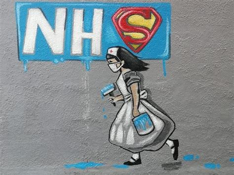 pontefract artist paints banksy style mural  pub wall