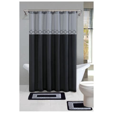 Shower Curtain Sets by Sets Of Shower Curtain Rugs For Bathroom Useful Reviews