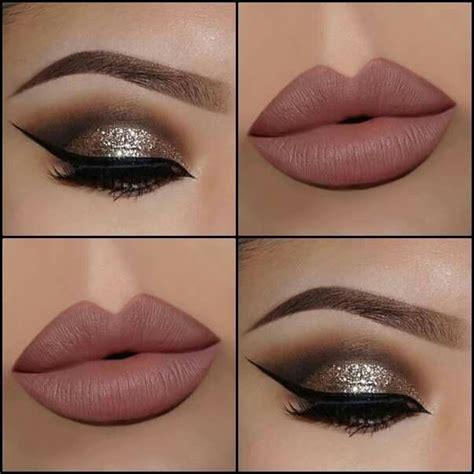 imagenes de uñas blancas con dorado las 25 mejores ideas sobre maquillaje de ojos dorados en