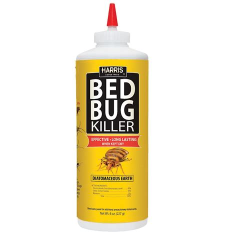 bed bug body spray diatomaceous earth pf harris