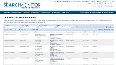 The Search Monitor The Search Monitor Launches Shopping Compliance Service
