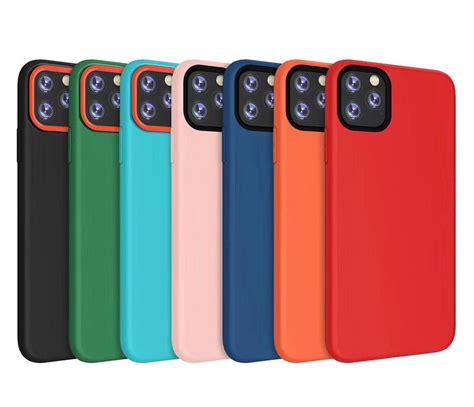 soft tpu liquid slicone case  iphone  pro max xr xs