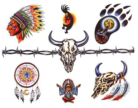native design tattoos indian tattoos designs