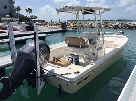 ranger bay boats for sale used 2016 used ranger bay 24 bahia center console fishing boat