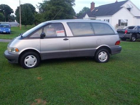 car owners manuals for sale 1997 toyota previa engine control find used 1997 toyota previa le mini passenger van 3 door 2 4l in gretna virginia united states