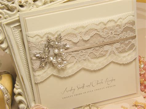 how to make lace wedding invitation cards top collection of vintage lace wedding invitations theruntime