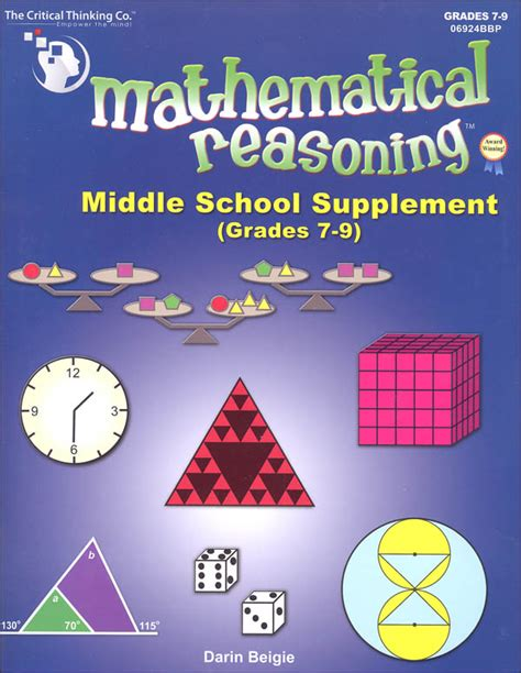 supplement grades mathematical reasoning middle school supplement grades 7