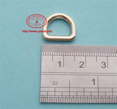 for 10 mm 3 8 inch webbing 50 pieces 1 5 1 3cm alloy d ring high quality in bag parts