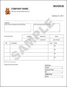 Child Care Invoice Template by Daycare Invoice Template Studio Design Gallery