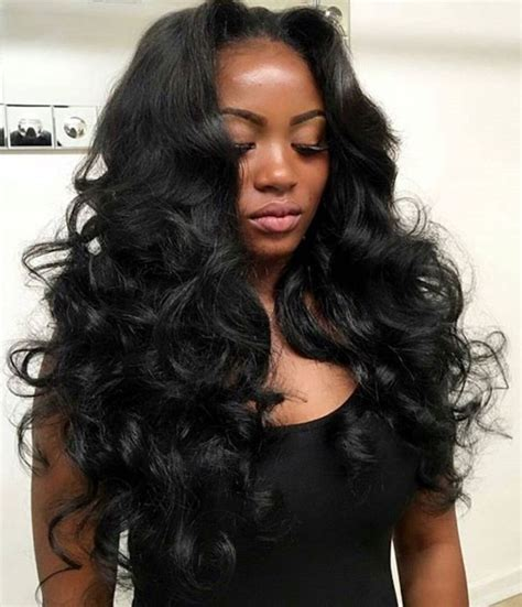 hairsryles for women with body waves 17 images about celebrity sew in hairstyles black women