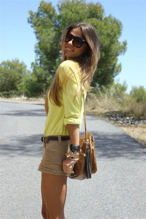 Khaki Leopard Casual Top 26839 179 best brown and yellow images on