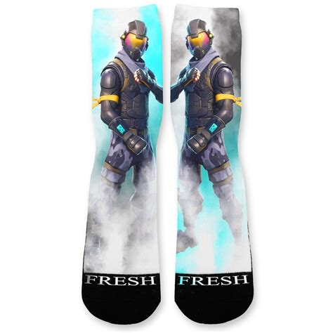 fortnite rogue fortnite rogue custom athletic fresh socks fresh