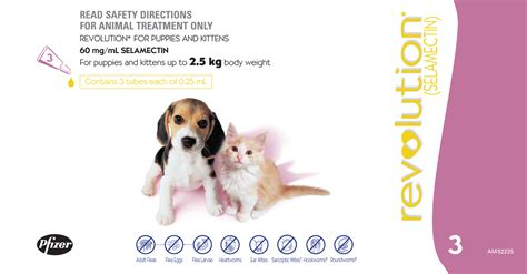 revolution puppy revolution kit pup up to 2 5kgs 3 s