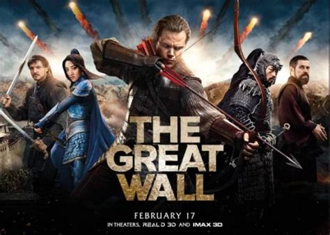film china wall reviews the old fashioned monster movie returns with the