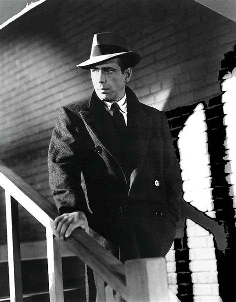 Humphrey Bogart As Private Detective Sam Spade The Maltese