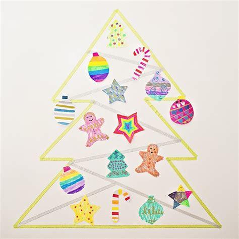 washi paper ornament make a washi tree with ornaments