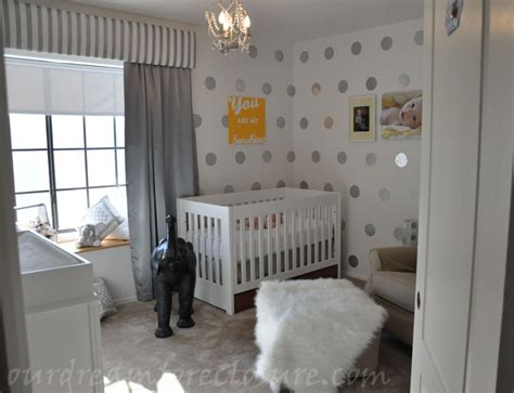 Grey And White Nursery Decor Custom Nursery By Modern Gender Neutral Nursery Ideas