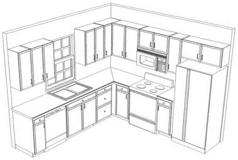 kitchen cabinet layout design 10x10 kitchen on pinterest l shaped kitchen kitchen
