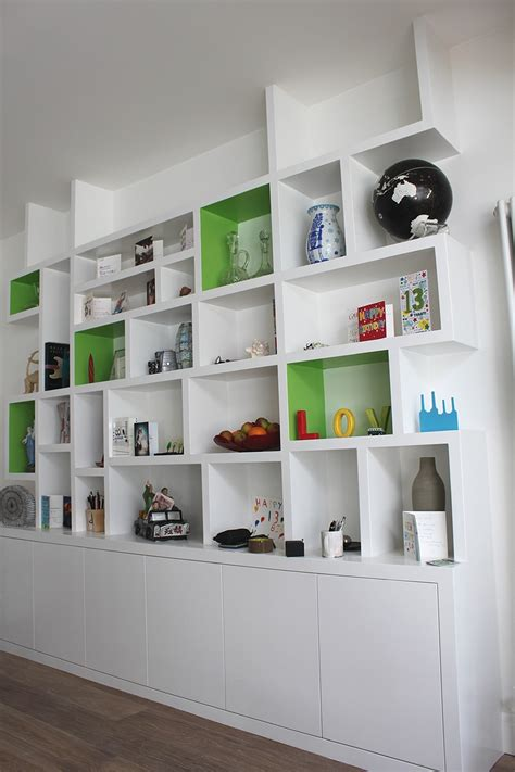 contemporary white shelves 15 ideas of contemporary bookcases