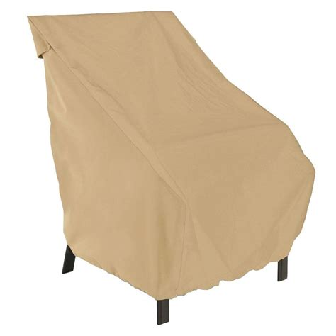 Classic Accessories Patio Furniture Covers Classic Accessories Terrazzo High Back Patio Chair Cover 58932 Ec The Home Depot