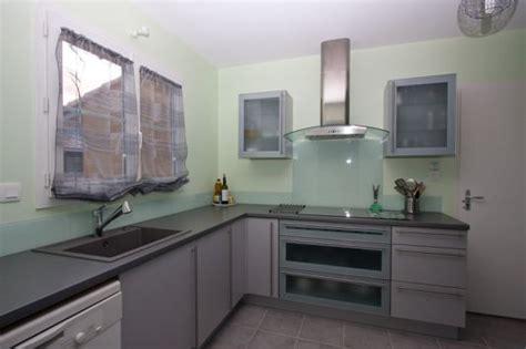 cr馘ence en verre pour cuisine id 233 e credence cuisine verre ikea cr 233 dences cuisine