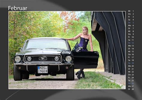Mustang Auto Kalender by Kalender 2017 Cool Cars Cool People Ford Fotogruppe