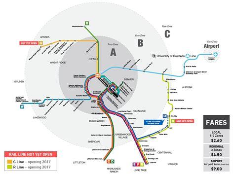 denver light rail expansion map rtd