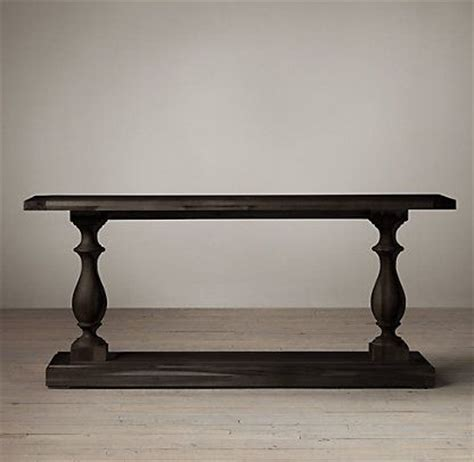 Restoration Hardware Console Table Console Tables Restoration Hardware Furniture