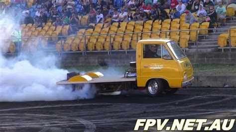 mazda e2000i truck mazda v8 truck slo3st at burnout mania sydney dragway