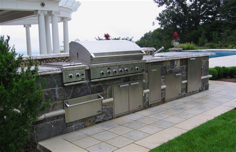custom backyard bbq grills custom outdoor bar bbq grill design installation bergen county nj traditional