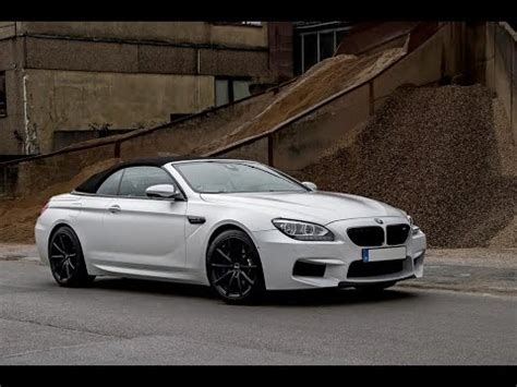 modified bmw m6 bmw m6 convertible custom 2016 by noelle motors youtube