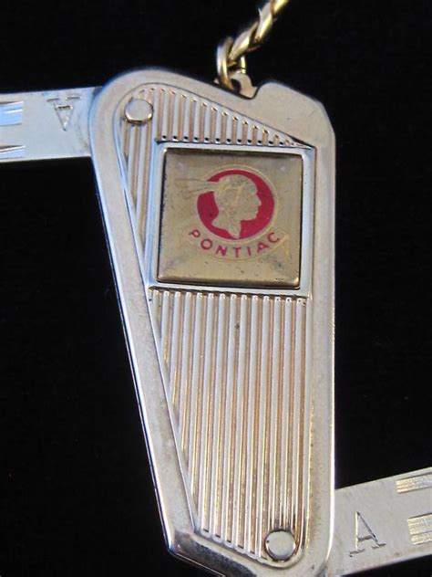 buy pontiac strato streak vintage folding dream car double key fits gm   motorcycle