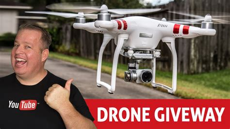 How To Giveaway On Youtube - dji phantom 3 drone giveaway how to do contests giveaways on youtube