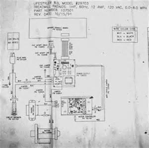 treadmill wiring diagram fixya