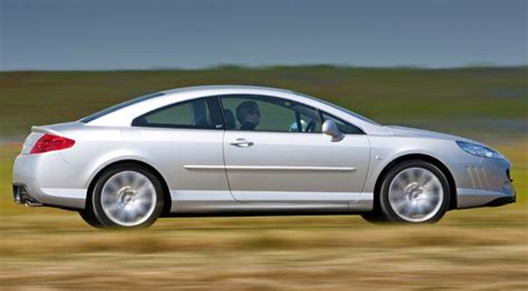 peugeot 407 coupe interior peugeot 407 coupe 2009 drops petrol engines by car magazine