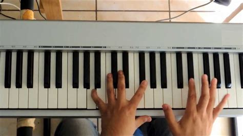 tutorial piano hosanna hossana marco barrientos tutorial piano youtube
