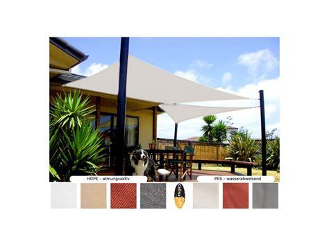 beschattung für terrassenüberdachung sonnensegel design terrasse