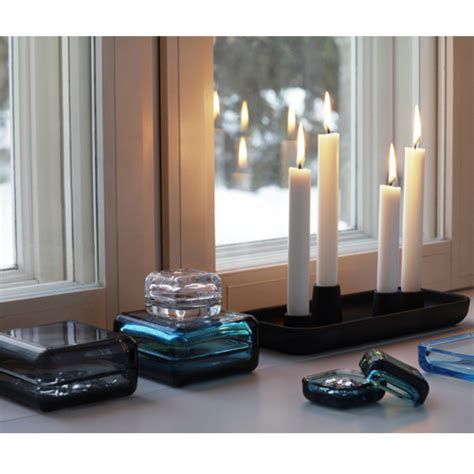 Rectangle Candle Holder by Iittala Allas Rectangle Candle Holder Candles Candle