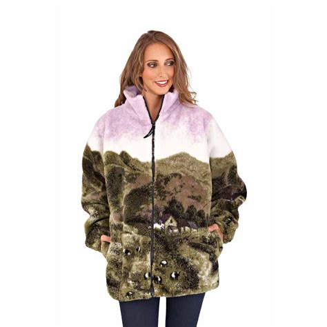 design united jacket ladies fleece lined jacket windproof soft thick thermal