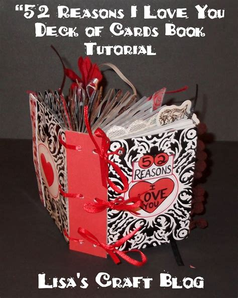 reasons to valentines day s craft tutorial quot 52 reasons i you quot book