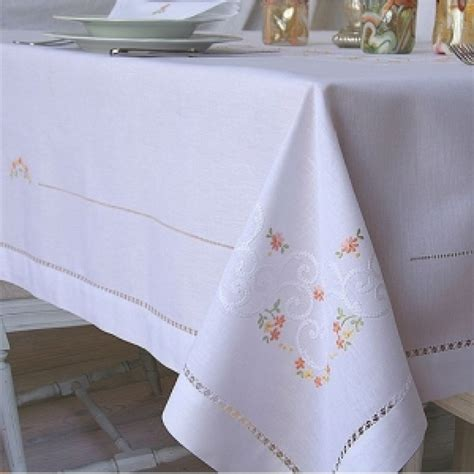 Table Cloths by Calendule Embroidered Tablecloths