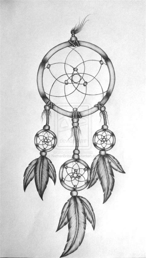 design of dream catcher dreamcatcher tattoo design by nathanbrittain on deviantart
