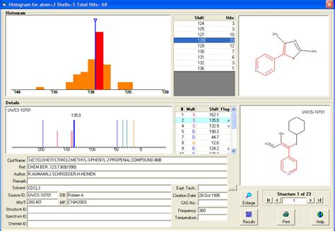 Proton Nmr Database by Delta Software For Nmr Database Automationnews