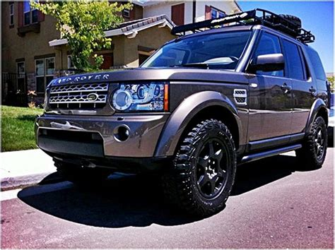 custom land rover lr4 lr4 with baja rack landrover pinterest vinyls nice