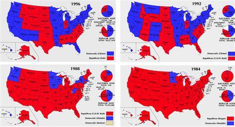 map usa democrat republican american government 2015 2016 electoral college maps