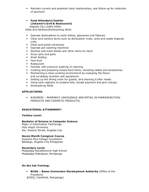 dishwasher resume sles dishwasher description for resume 35 images dishwasher