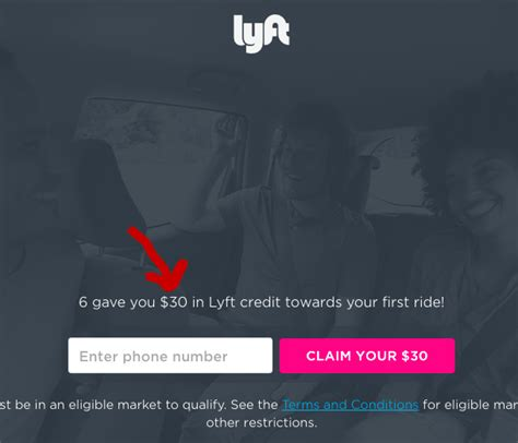 Lyft Gift Card Discount - lyft lifts new user credit bonus to 30 instead 20