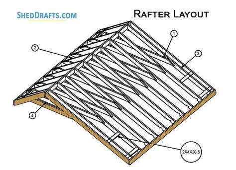 saltbox storage shed plans blueprints  craft